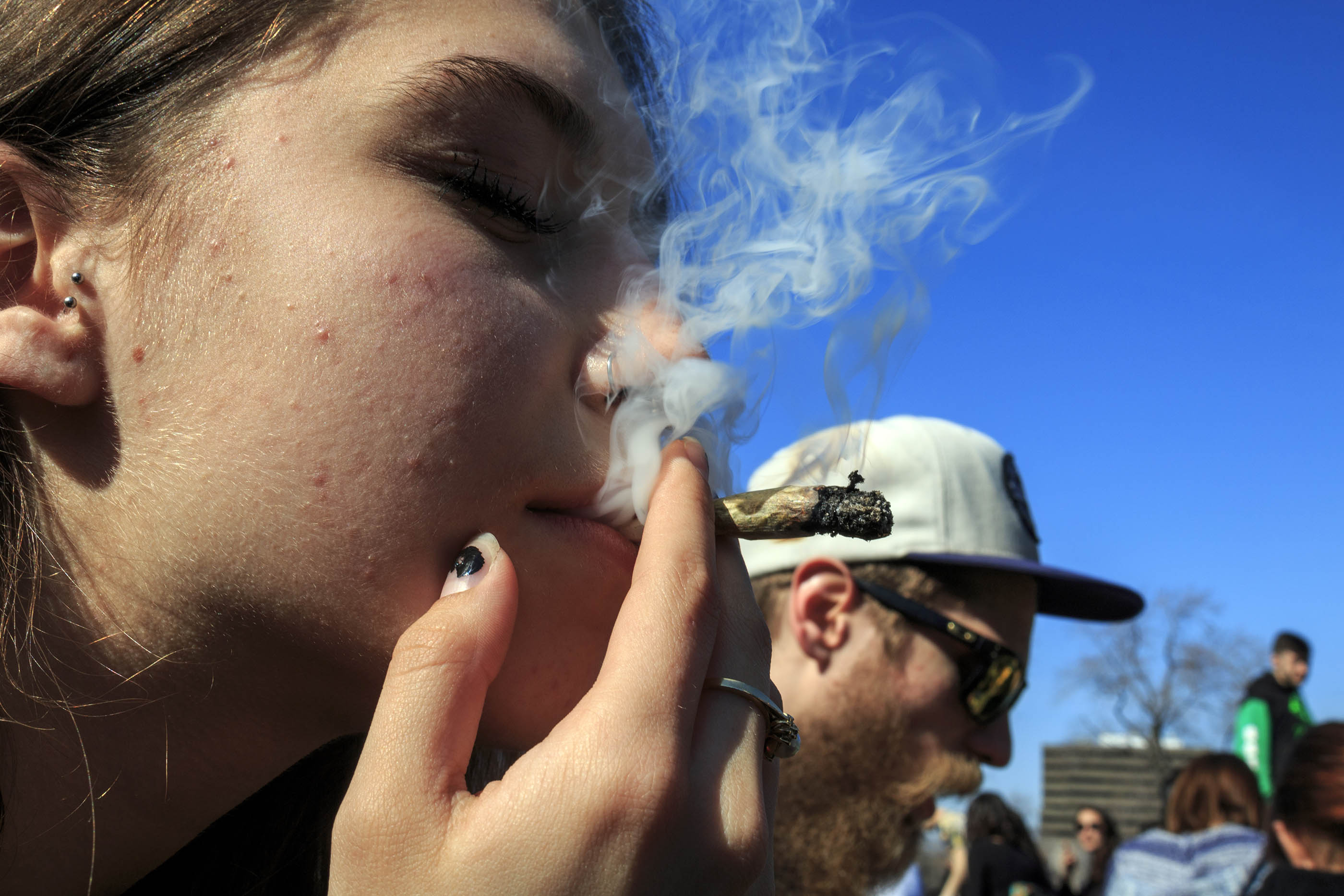 4/20 MONTREAL LOUIS GOBEILLE PHOTOS MARIJUANA POT WEED HERB CANNABIS SMOKING LEGALIZE IT