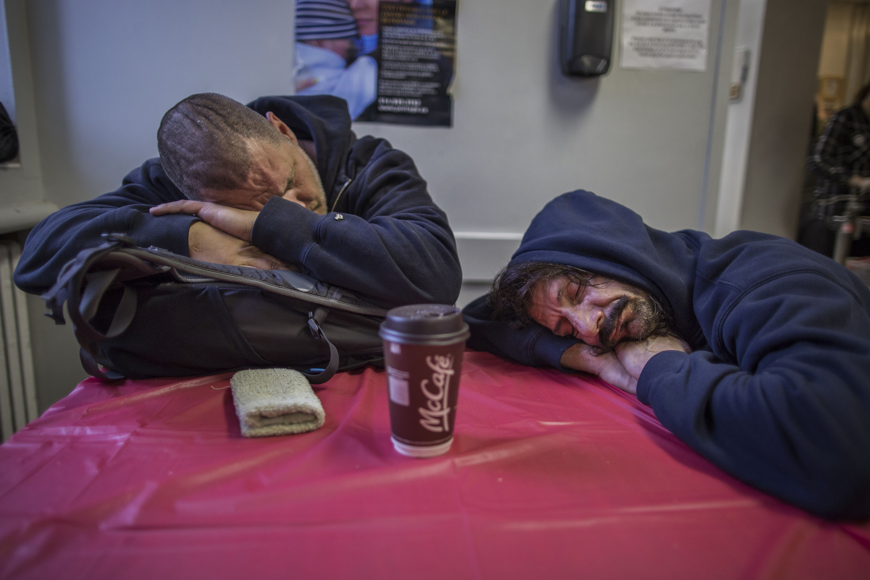 HOMELESS SHELTER STREET REST Photoreport MICHAEL MONNIER