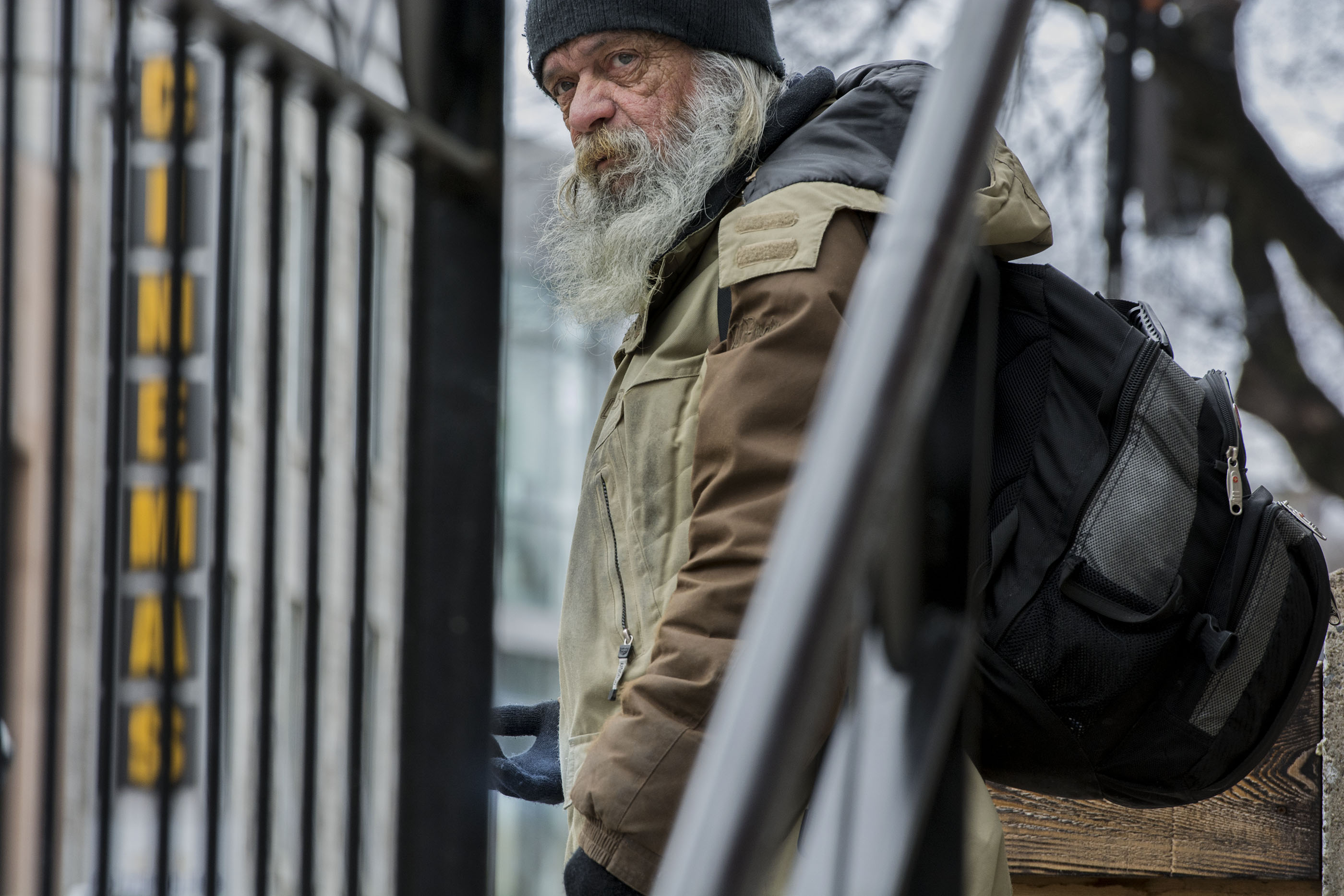 MONTREAL HOMELESS SANS ABRIS SDF