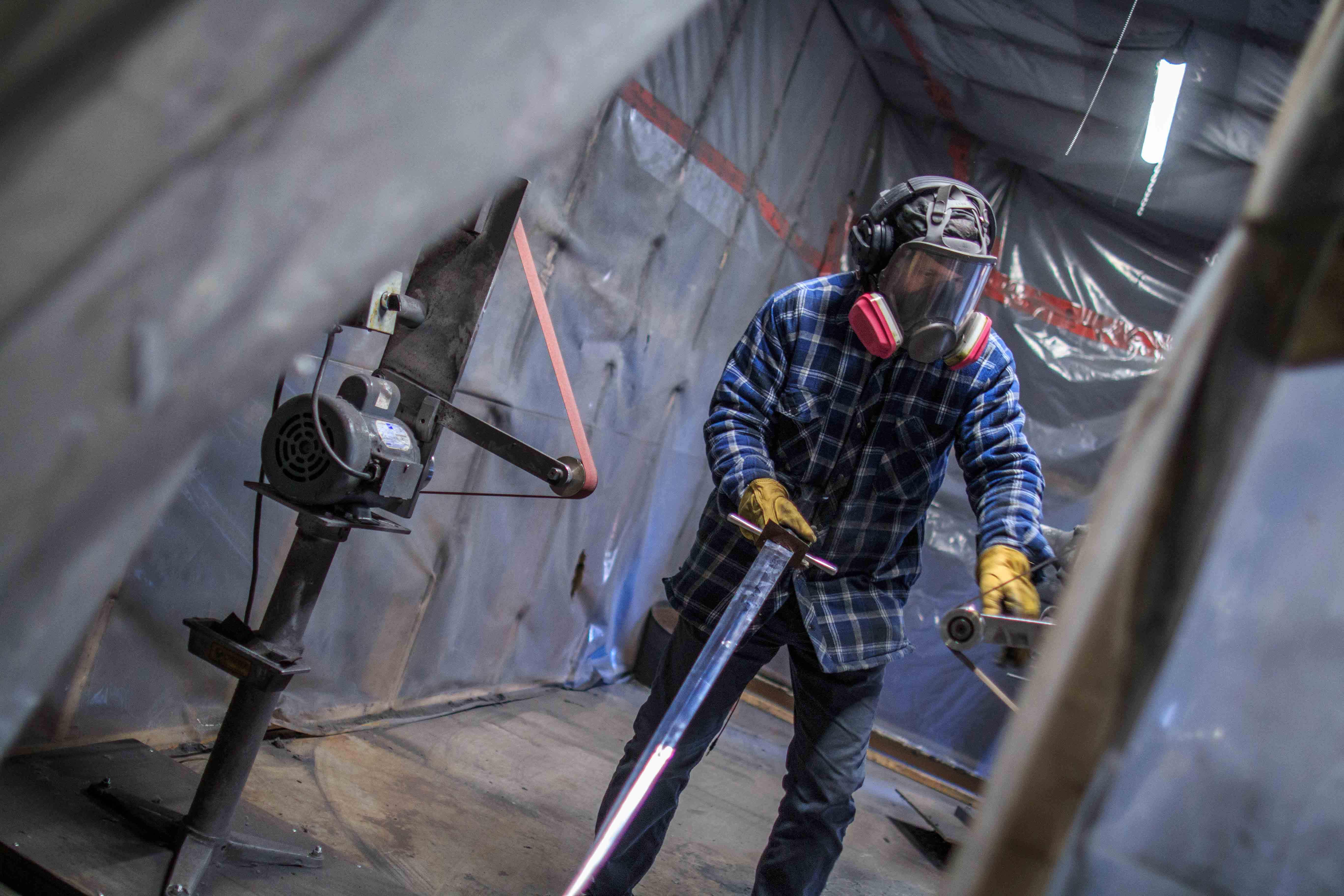 Épées légendaires forgeron blacksmith montreal swords historic reproduction historical reenactment